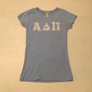 Tops - Vintage Alpha Delta Pi Handmade Stitched Letters